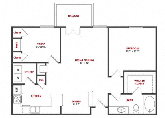 Floor Plan  Melrose