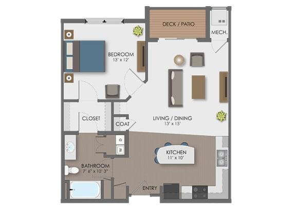 Floor Plan  Floor plan at The Edison at Avonlea, Lakeville, MN