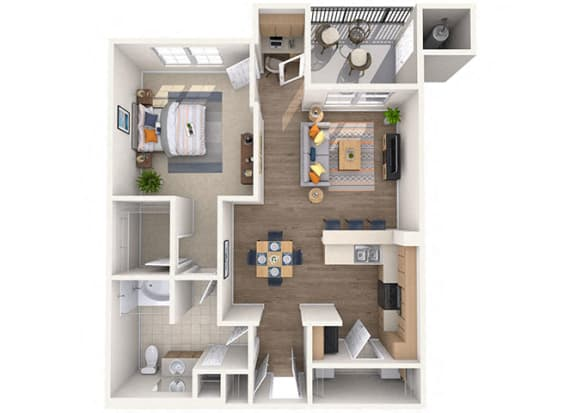 Floor Plan  Sunrise  Floor Plan at Waterford at Peoria, Peoria, AZ, 85381