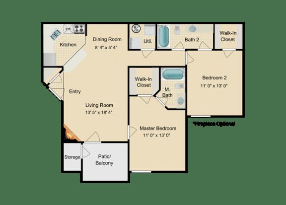 Floor Plan  Bimini Floor Plan at Fourteen01, Florida