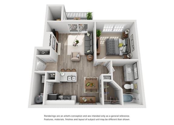Floor Plan  A1.1ar Floor Plan at Addison Park, North Carolina