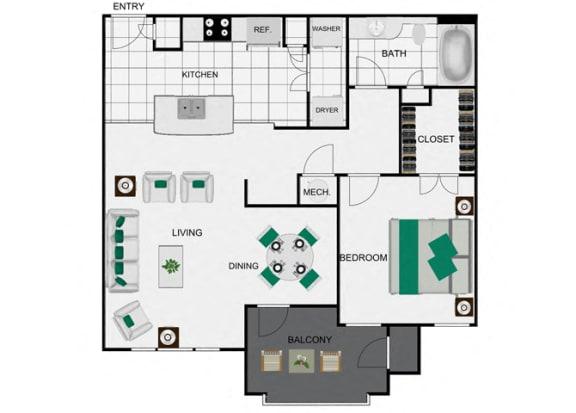 Floor Plan  A3_2 Floorplan for arlo westchase