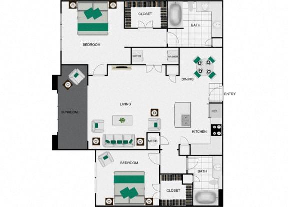 Floor Plan  B4c floorplan for arlo westchase