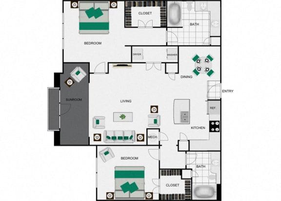 Floor Plan  B4d Floorplan for arlo westchase