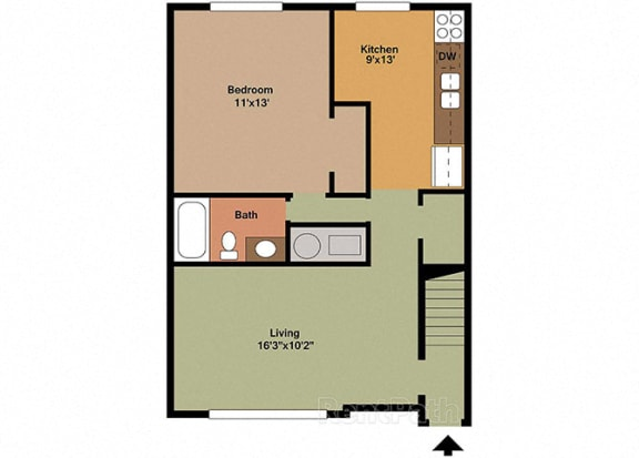 Unit Image at Fountainview Apartments, Indianapolis, 46226