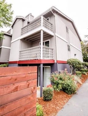 Tacoma Apartments - Notch8 Apartments - Rear Exterior