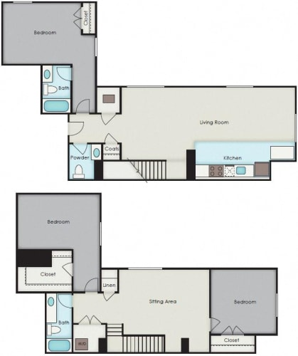 Floor Plan  First National Apartments - Chase Plan