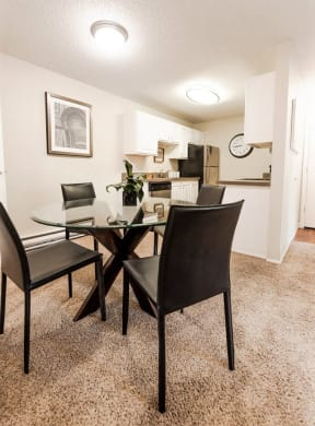Everett Apartments - Tessera Apartments - Dining Room and Kitchen
