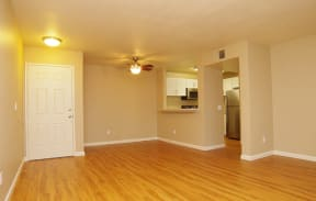 The Meadows Wood Floor in lower units