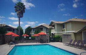 Pool l The Meadows Apartments in Santa Rosa CA