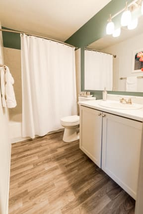 Tacoma Apartments - Aero Apartments - Bathroom