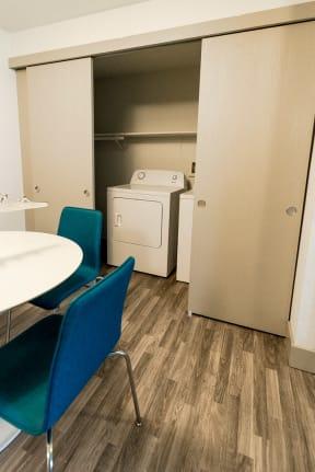 Tacoma Apartments - Aero Apartments - Dining Room and Laundry