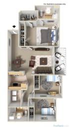 3bedroom floor plan