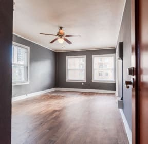 Seattle Apartments - Edwards on Fifth Apartments - Main Room from Entryway