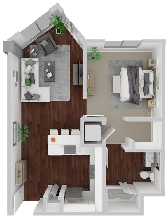 Floor Plan  Venn on Market|Haight Ashbury