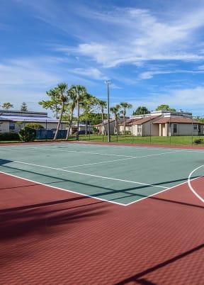 Community basketball and tennis court    Caribbean Villas
