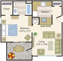 Floor Plan  Appaloosa