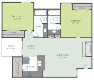Floor Plan The Courtyard