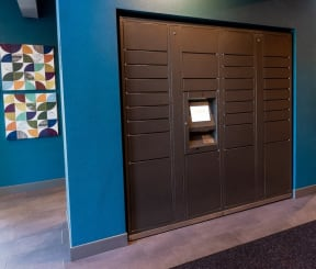 Tacoma Apartments - The Lodge at Madrona Apartments - Package Lockers