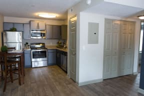 The Southern Kitchen and Interior Closets