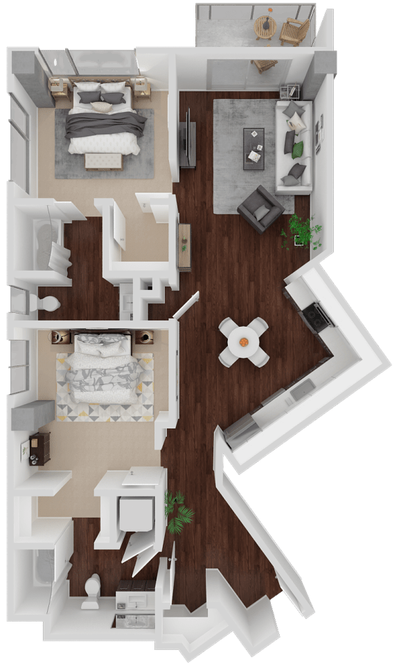 Floor Plan  Venn on Market  Church