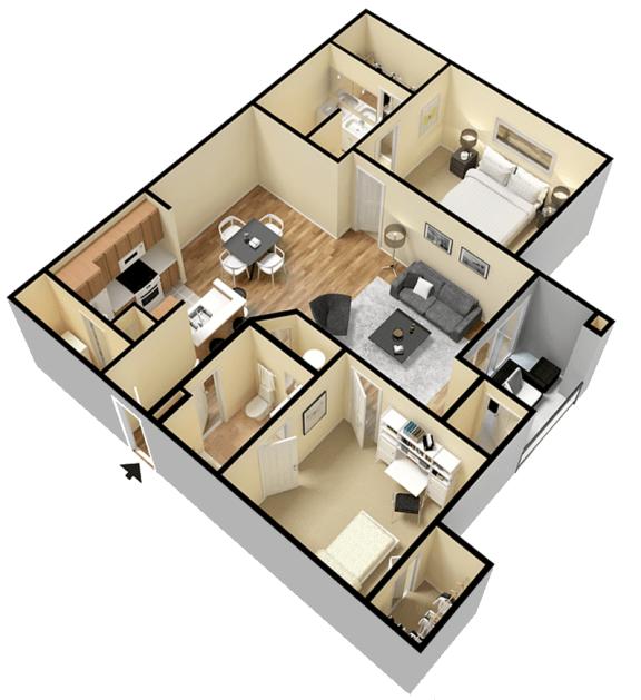Floor Plan  Rapallo Apartments Milano B floor plan