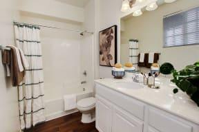 Apartments in Rancho Cucamonga CA - Barrington Place Apartments Bathroom