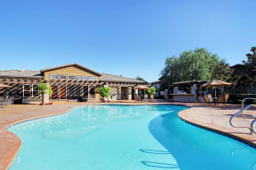 Apartments for Rent in Rancho Cucamonga - Barrington Place Apartments Swimming Pool