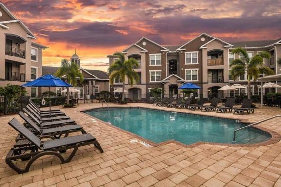 Fountain Villas Pool