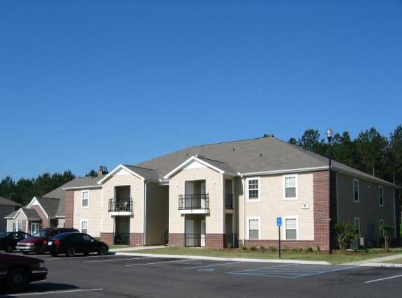 Exterior Parking at Cypress Park Apartments, Columbus, Mississippi