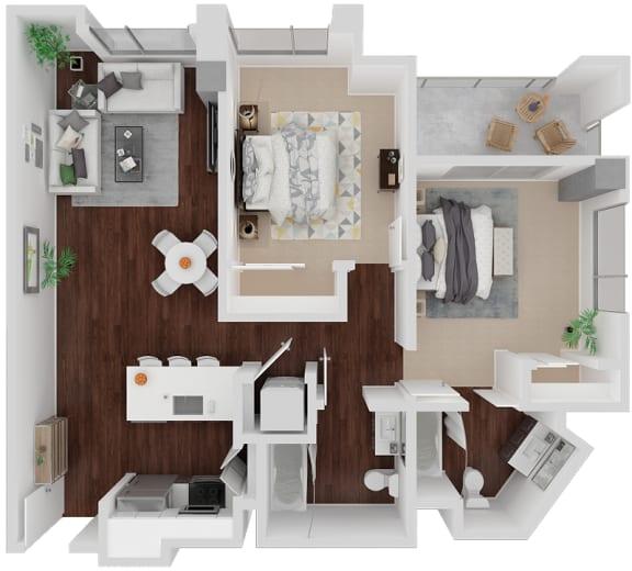 Floor Plan  Venn on Market| Waller