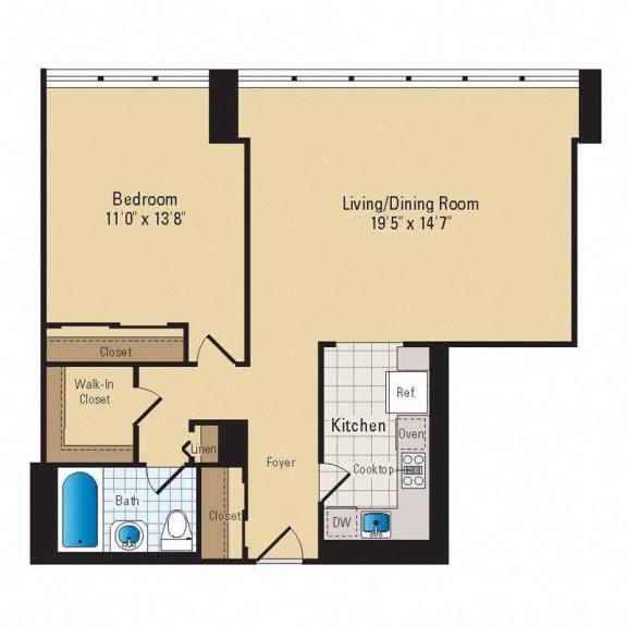 Floor Plan  A02 Premium
