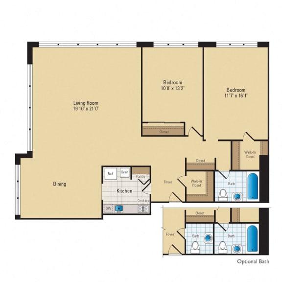 Floor Plan  B04 Premium