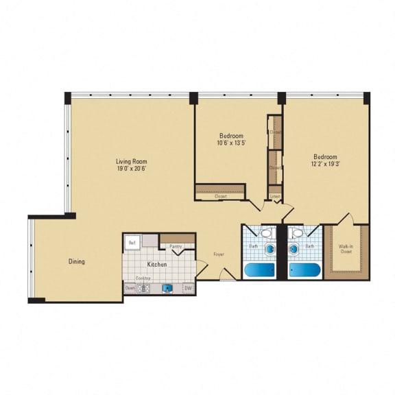 Floor Plan  B05 Premium