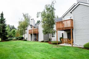 Lakewood Apartments - Crown Pointe Apartments - Rear Exterior