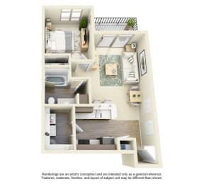 Floor Plan  Bailey Farm Floor Plan A1A 1x1