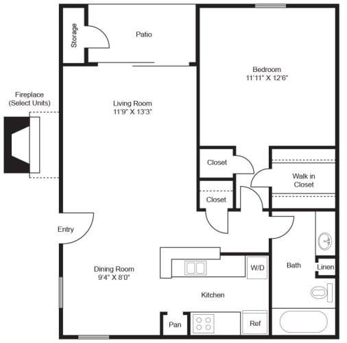 Floor Plan  Angelina