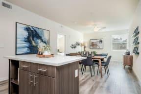 Hub Apartments   Folsom CA  MODEL KITCHEN2