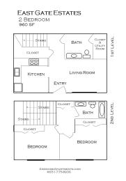 East Gate Estates floor plan