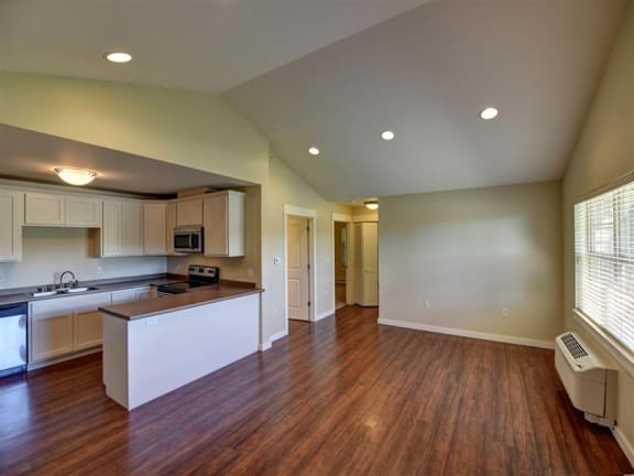 Open Concept Floorplan at Saddleview Apartments in Bozeman, MT