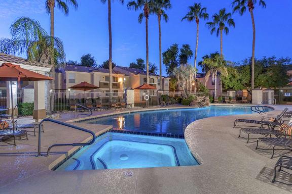 Arrowhead Landing resort-style pool