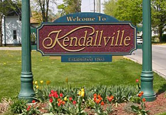 Kendallville Home Sign Board at Nelson Estates Apartments, Indiana, 46755