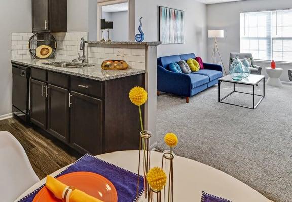 Interiors at Trinity Lakes Apartments, Columbus, OH, 43228