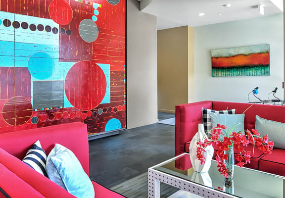 Modern Interior Design at Mural Apartments in Seattle, WA 98116