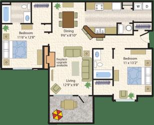 Floor Plan Palamino