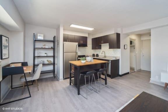 Modern open concept kitchen space - The Prelude Studio