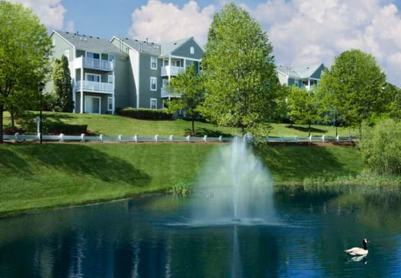 Community Lake at BrookStone Village, Cincinnati