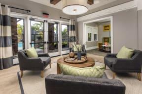 Indoor community living area