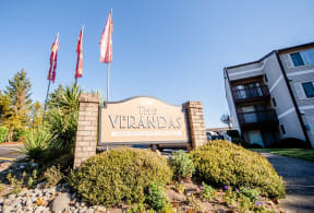 Tacoma Apartments - The Verandas Apartment Homes - Sign