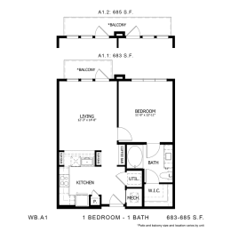Floor Plan WB.A1